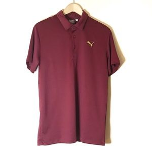 Puma Men's Dry Cell Short Sleeve Polo